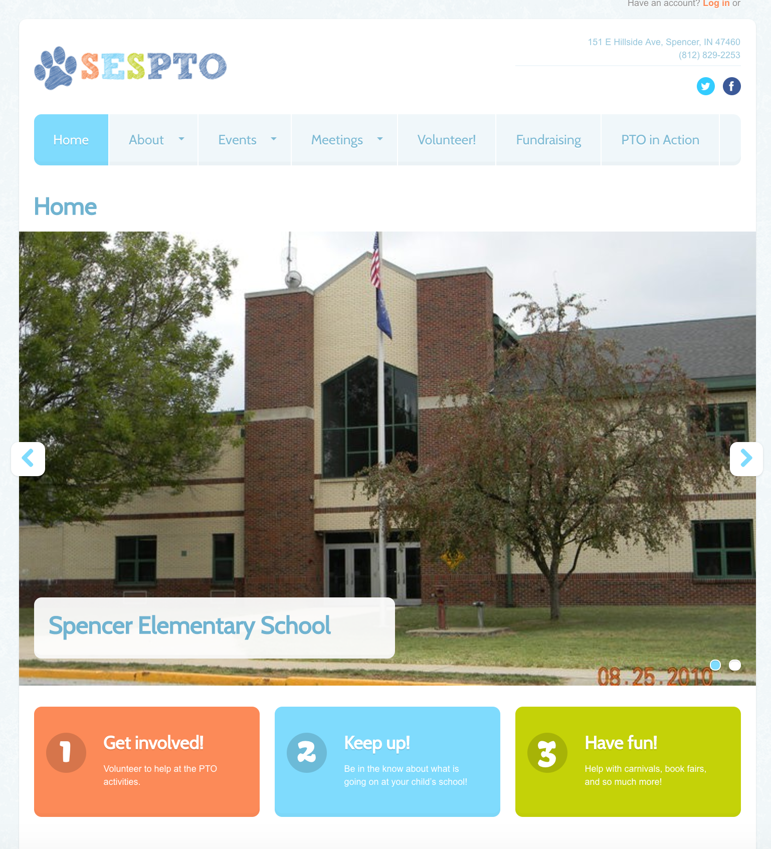 Spencer PTO Website
